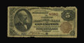 National Bank Notes:Kentucky, Covington, KY - $5 1882 Brown Back Fr. 471 The Citizens NB Ch. #4260. ...