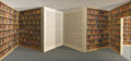 Sculpture, Patrick Hughes (British, born 1939). . Open Book . 20th century. Oil on board. Signed and titled on reverse. 43 x 82-1/2...