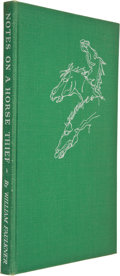 Books:Signed Editions, William Faulkner. Notes on a Horse Thief. Greenville: Levee Press, 1950. First edition, limited to 975 numbered copi...