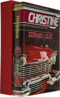 Books:Signed Editions, Stephen King. Christine. West Kingston: Donald M. Grant,[1983]. First edition, limited to 1000 numbered copies of w...