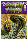 Bronze Age (1970-1979):Horror, Swamp Thing #1 Group (DC, 1972).... (Total: 2 Comic Books)