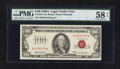 Small Size:Legal Tender Notes, Fr. 1551 $100 1966A Legal Tender Note. PMG Choice About Unc 58 EPQ.. ...