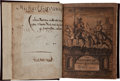 Books:Early Printing, Miguel de Cervantes Saavedra. The History of the Valorous and Witty Knight Errant, Don Quixote of the Mancha. Writte... (Total: 2 Items)