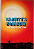 Books:First Editions, Thomas Pynchon. Gravity's Rainbow. New York: Viking, [1973].First edition, first printing. Octavo. 760 pages. P...