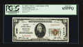 National Bank Notes:Tennessee, Bristol, TN - $20 1929 Ty. 1 The First NB Ch. # 2796. ...