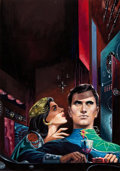Art:Illustration Art - Pulp, EMSH (EDWARD EMSHWILLER) (American, 1925-1990). On Alert,paperback cover . Gouache on board. 16 x 11 in.. Signedlo...