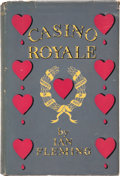 Books:First Editions, Ian Fleming. Casino Royale. London: Jonathan Cape, [1953].First edition. second printing. Octavo. 218 pages. Bo...