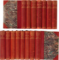 Books, Charles Darwin. Works of Charles Darwin in Fifteen Volumes,including: Journal of Researches into Natural History ...(Total: 15 Items)