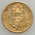 Mexico, Mexico: Republic gold 5 Pesos 1888-MoM,...