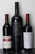 Domestic Cabernet Sauvignon/Meritage, Eberle Cabernet Sauvignon . 2005 Estate Bottle (1). Mount Eden Cabernet Sauvignon . 2003 Estate Bottle (... (Total: 2 Btls. & 1 Mag. )