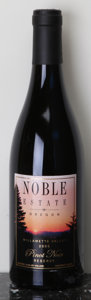 Domestic Pinot Noir, Noble Estate Pinot Noir 2006 . Willamette Valley. 3tal. Bottle (10). ... (Total: 10 Btls. )