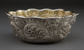Silver Holloware, American:Bowls, A WHITING SILVER AND SILVER GILT BOWL . Whiting ManufacturingCompany, New York, New York, circa 1880. Marks: (griffin with ...