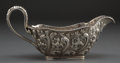 Silver Holloware, American:Other , A THEODORE B. STARR SILVER SAUCE BOAT . Theodore B. Starr, NewYork, New York, circa 1900 . Marks: (star) THEODORE B.STAR...
