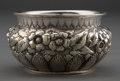 Silver Holloware, American:Bowls, A WHITING SILVER REPOUSSÉ BOWL . Whiting Manufacturing Company, NewYork, New York, circa 1880 . Marks: (griffin with W) S...