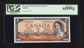 Canadian Currency: , BC-30a $2 1954 Devil's Face.. ...