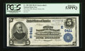 National Bank Notes:Pennsylvania, Mount Union, PA - $5 1902 Plain Back Fr. 598 The First NB Ch. #(E)6411. ...