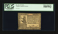 Colonial Notes:Virginia, Virginia October 20, 1777 $1/6 PCGS Choice About New 58PPQ.. ...