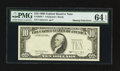 Error Notes:Missing Third Printing, Fr. 2029-? $10 1990 Federal Reserve Note. PMG Choice Uncirculated 64 EPQ.. ...