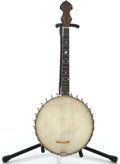 Musical Instruments:Banjos, Mandolins, & Ukes, 1915 Vega Tu-Ba-Phone Maple Tenor Banjo #31904...