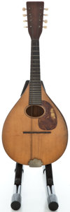 Musical Instruments:Banjos, Mandolins, & Ukes, 1920's Martin A Project Natural Mandolin #13466...