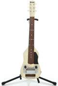 Musical Instruments:Lap Steel Guitars, 1950's Cochran 6-String White MOTS Lap Steel Guitar ...