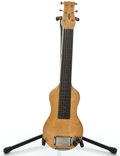 Musical Instruments:Lap Steel Guitars, 1940's Bronson Project Yellow MOTS Lap Steel Guitar ...