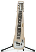 Musical Instruments:Lap Steel Guitars, 1957 Fender Studio Tan Lap Steel Guitar #-0288...