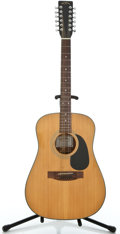 Musical Instruments:Acoustic Guitars, Sigma DM 12-2 Natural 12 String Acoustic Guitar #87100041...