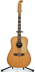 Musical Instruments:Acoustic Guitars, 1960's Fender Shenandoah Natural 12 String Acoustic Guitar#23514...
