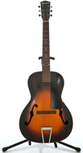 Musical Instruments:Acoustic Guitars, 1930's Kalamazoo Arched Back Sunburst Archtop Acoustic Guitar ...
