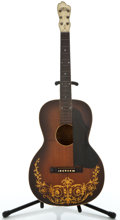 Musical Instruments:Acoustic Guitars, 1920's Oahu Deco Sunburst Acoustic Guitar ...