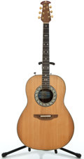 Musical Instruments:Acoustic Guitars, Ovation 1617 Natural Acoustic Guitar #210428...