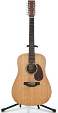 Musical Instruments:Acoustic Guitars, Martin D 12X1 Natural Satin 12 String Acoustic Guitar #1085688...
