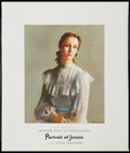 "Movie Posters:Romance, Portrait of Jennie (Selznick, 1948). Special Promotional One Sheet(22"" X 26""). Romance.. ..."