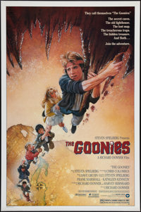 "The Goonies (Warner Brothers, 1985). One Sheet (27"" X 41""). Adventure"
