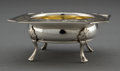 Silver Holloware, American:Bowls, A GORHAM SILVER AND SILVER GILT FOOTED DISH . Gorham ManufacturingCo., Providence, Rhode Island, circa 1912 . Marks: (lion-...