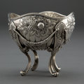 Silver Holloware, American:Bowls, A GORHAM SILVER NUT BOWL . Gorham Manufacturing Co., Providence,Rhode Island, circa 1888. Marks: (lion-anchor-G) STERLING...