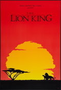 """Movie Posters:Animated, The Lion King (Buena Vista, 1994). One Sheet (27"""" X 40"""") SSInternational Advance Style. Animated.. ..."""