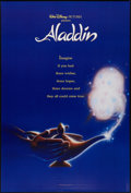 "Movie Posters:Animation, Aladdin (Buena Vista, 1992). One Sheets (2) (27"" X 40"") SSInternational Advance Styles. Animation.. ... (Total: 2 Items)"