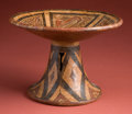 American Indian Art:Pottery, Cocle Frutera with Saurian Deities...