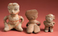 Antiques:Antiquities, Group Lot of Three Intermediate Region Figures... (Total: 3 Items)