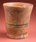 Antiques:Antiquities, Maya Painted Vase...