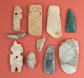 Antiques:Antiquities, Group Lot of Ten Small Hard Stone Carvings ... (Total: 10 Items)