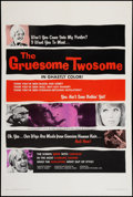 "Movie Posters:Horror, The Gruesome Twosome (Mayflower, 1967). One Sheet (27.5"" X 41""). Horror.. ..."
