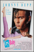 "Movie Posters:Comedy, Cry-Baby (Universal, 1990). One Sheet (27"" X 41"") DS Advance. Comedy.. ..."