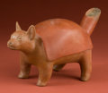 Pre-Columbian:Ceramics, Colima Turtle Dog...