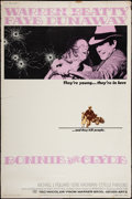 """Movie Posters:Crime, Bonnie and Clyde (Warner Brothers-Seven Arts, 1967). Poster (40"""" X 60""""). Crime.. ..."""
