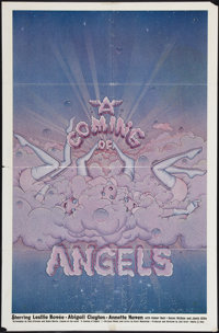 "A Coming of Angels & Other Lot (Artemis, 1977). One Sheets (2) (27"" X 41"" & 25"" X 38""..."