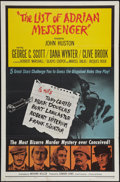 "Movie Posters:Mystery, The List of Adrian Messenger (Universal, 1963). One Sheet (27"" X41"") & Half Sheet (22"" X 28""). Mystery.. ... (Total: 2 Items)"