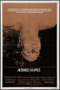 "Movie Posters:Science Fiction, Altered States (Warner Brothers, 1980). One Sheet (27"" X 41"").Science Fiction.. ..."